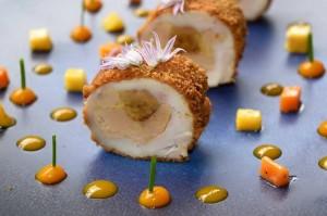 restaurant gastronomique le Rosebud au lavancher dans la vallée de Chamonix Mont Blanc - le menu classique
