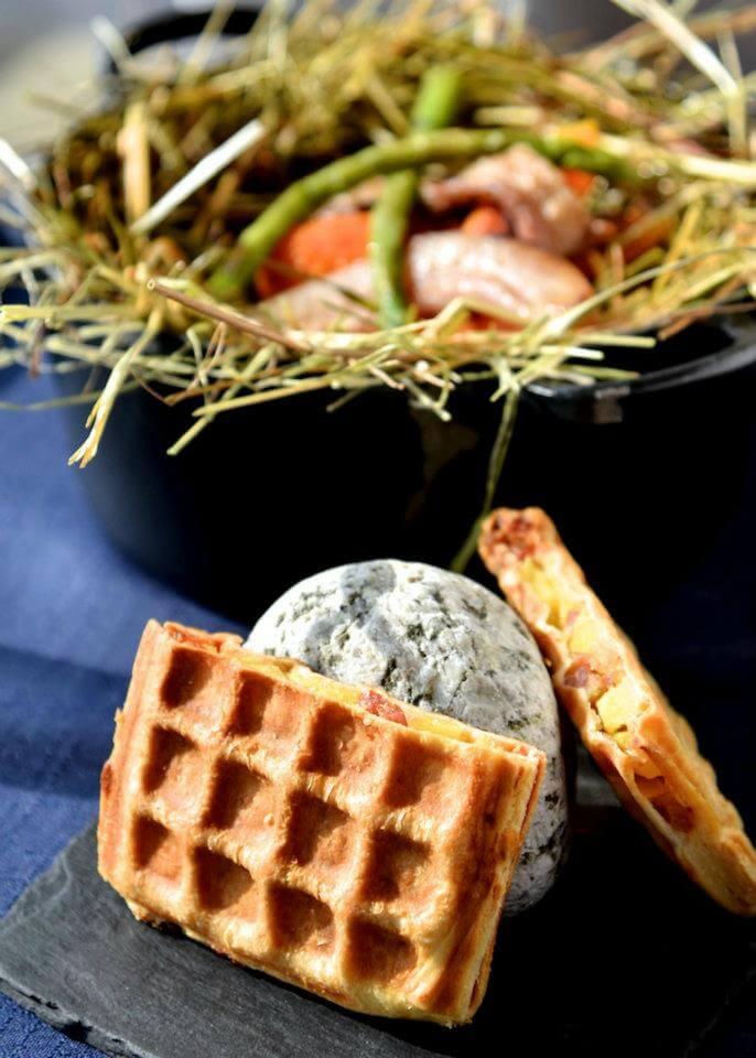 restaurant gastronomique le Rosebud au lavancher dans la vallée de Chamonix Mont Blanc - le menu régional