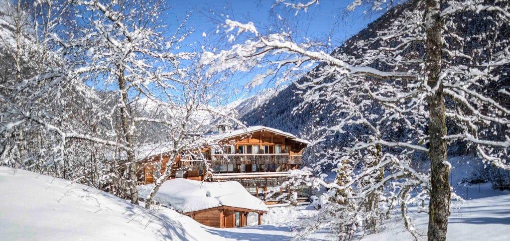 restaurant gastronomique le Rosebud au lavancher dans la vallée de Chamonix Mont Blanc