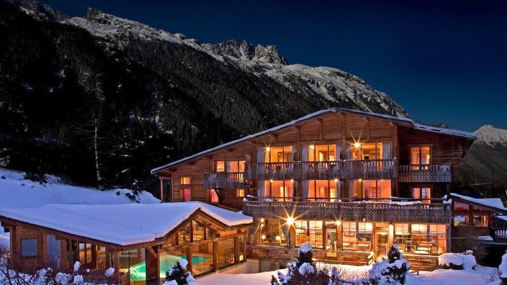 hôtel du jeu de paume à Chamonix