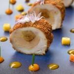 restaurant gastronomique le rosebud au lavancher dans la vallée de Chamonix- menu classique
