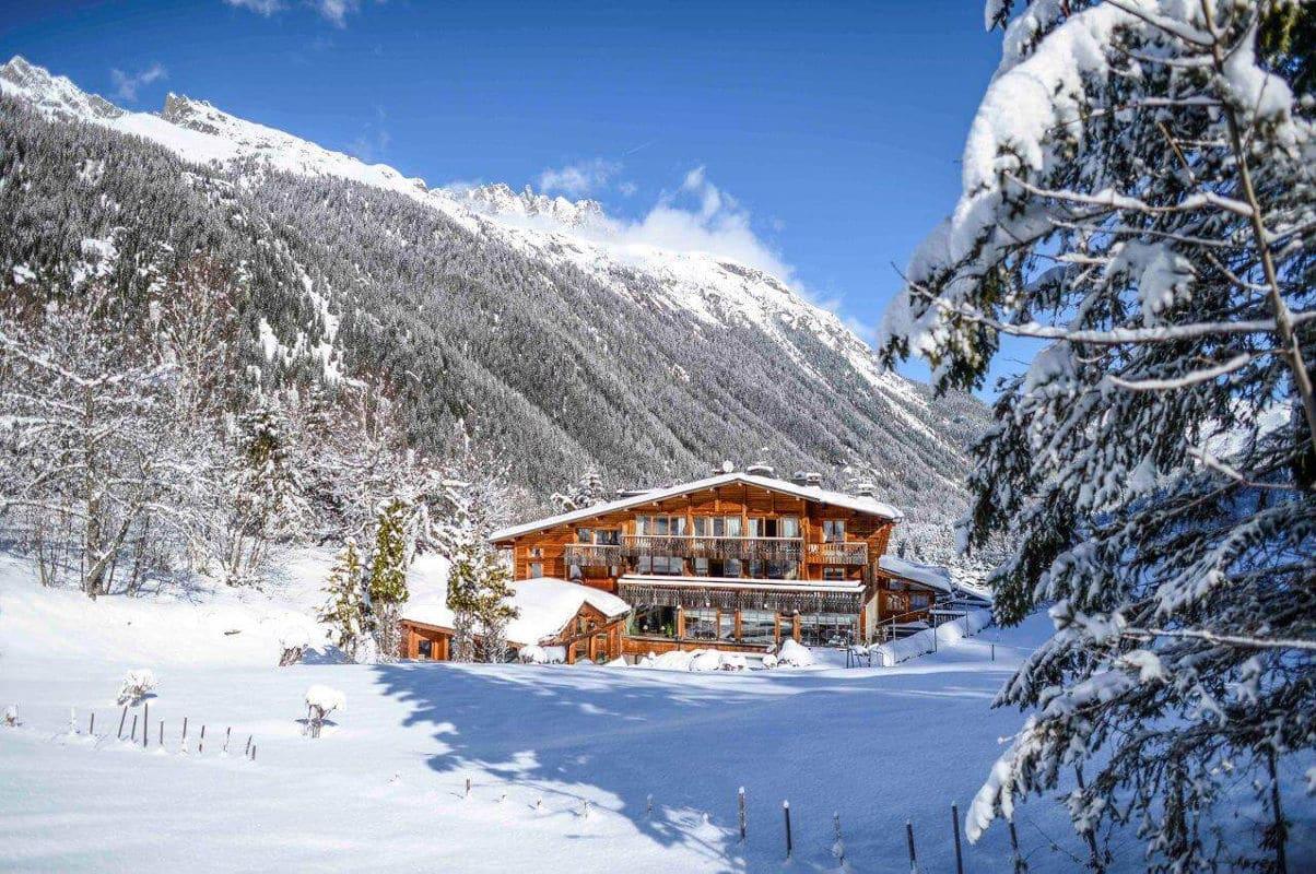 restaurant gastronomique Chamonix le rosebub hiver