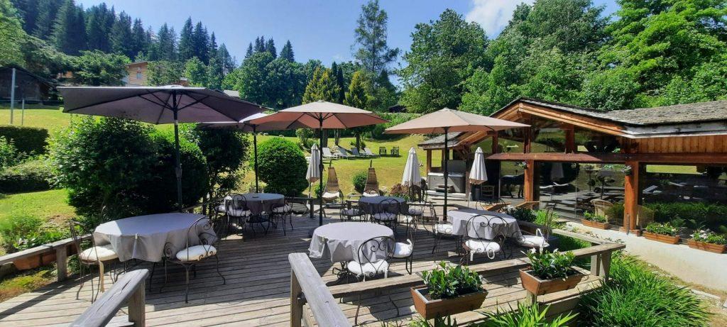 Restaurant gastronomique à Chamonix le Rosebud